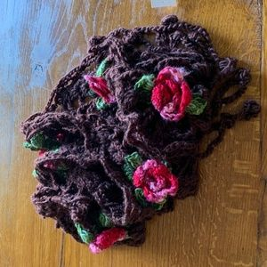 Accessories - Scarf with flowers